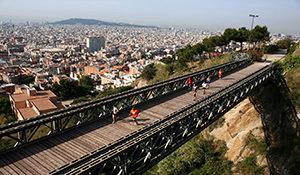Hacer deporte en el puente de Mülhberg
