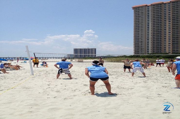Jugar a Volley-playa