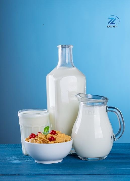 La Glutamina, que es y para que sirve. Lácteos y cereales.